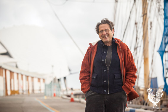 • American composer Alvin Curran is set to harness the sounds of Fremantle Ports | Photo supplied