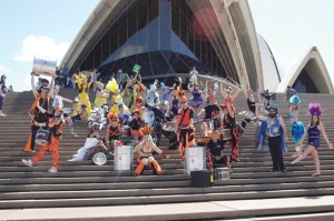 • Wasamba on a recent visit to Sydney: opera, who needs opera when you have samba?