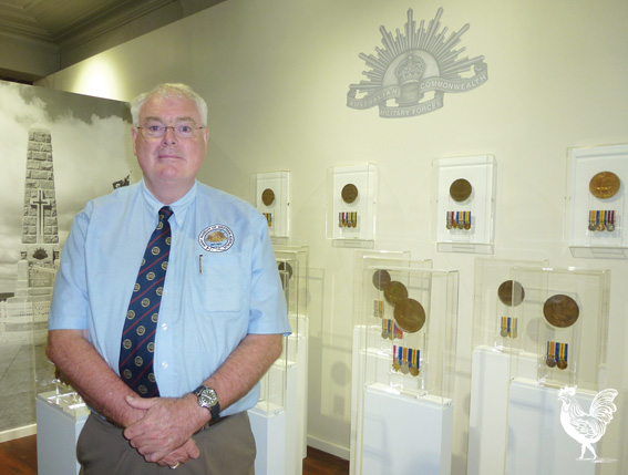 • SNUBBED: Museum artillery barracks chair Graham McEwan says WA volunteers are disappointed with the lack of federal funds commemorating WA's role in the Anzac campaign of WWI.