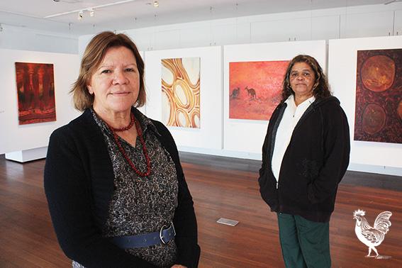 •Sharyn and Sandra Egan's exhibition laments the broken country of Bibra Lake. PhotobySteveGrant