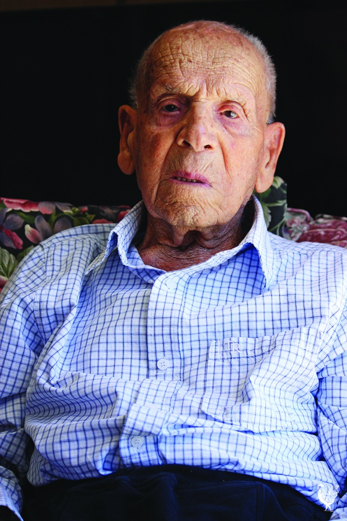 •Giuseppe Pittorino has hit 105 and is in miraculous condition. PhotobySteveGrant
