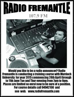 17 Radio Fremantle 10x2