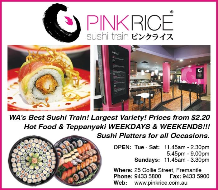 Pink Rice 10x3