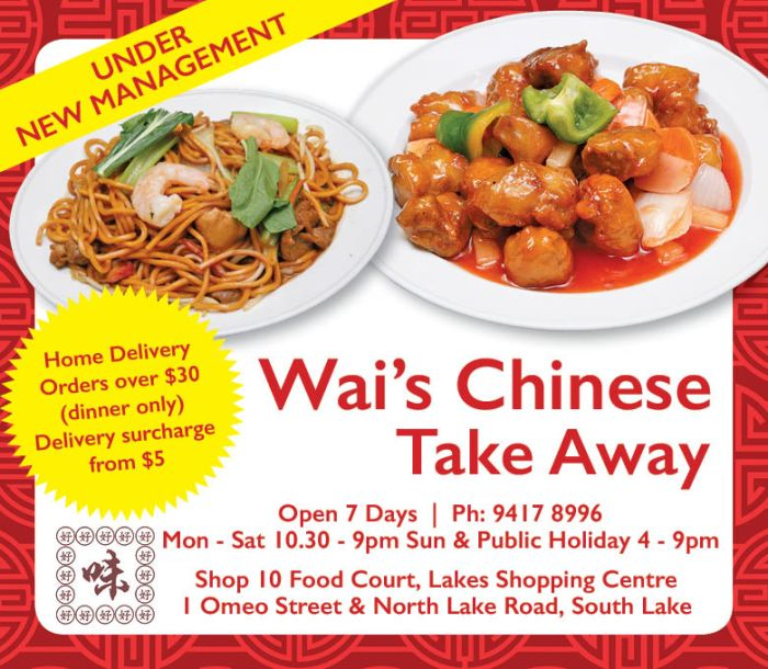 15. Wai Chinese Take Away 10x3
