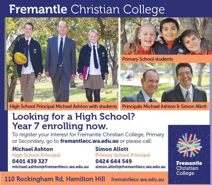 16. Fremantle Christian College 10x3