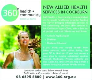 360 Health and Community 10x3