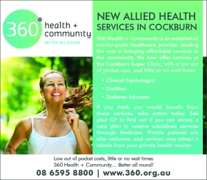 360 Health and Community 10x3
