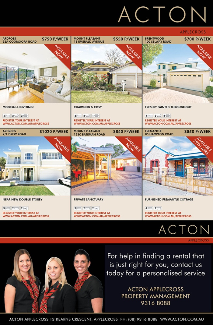 Acton APP Extra Page Property Management 40x7