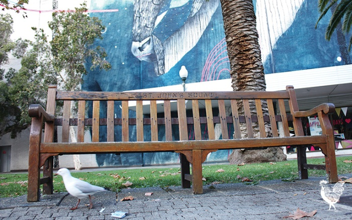 Freo's $2.35m park bench
