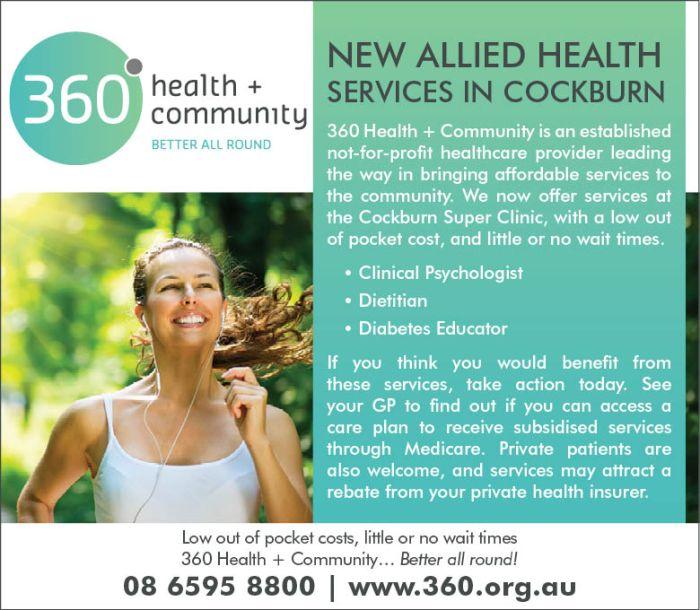 21. 360 Health and Community 10x3