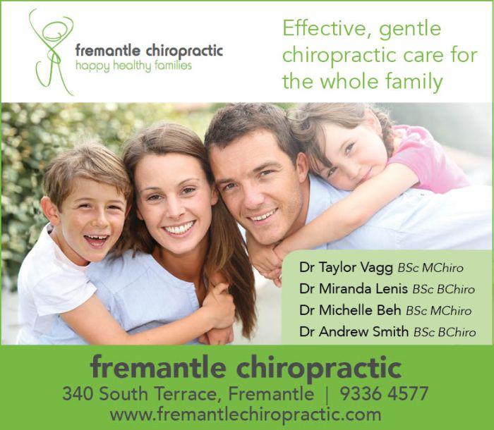 21. Fremantle Chiropractic 10x3