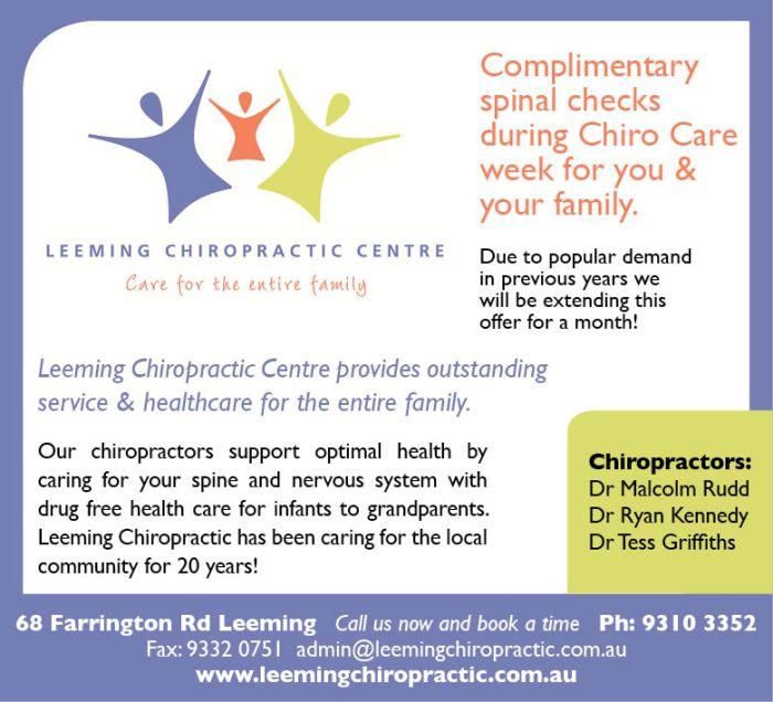 21. Leeming Chiropractic 10x3