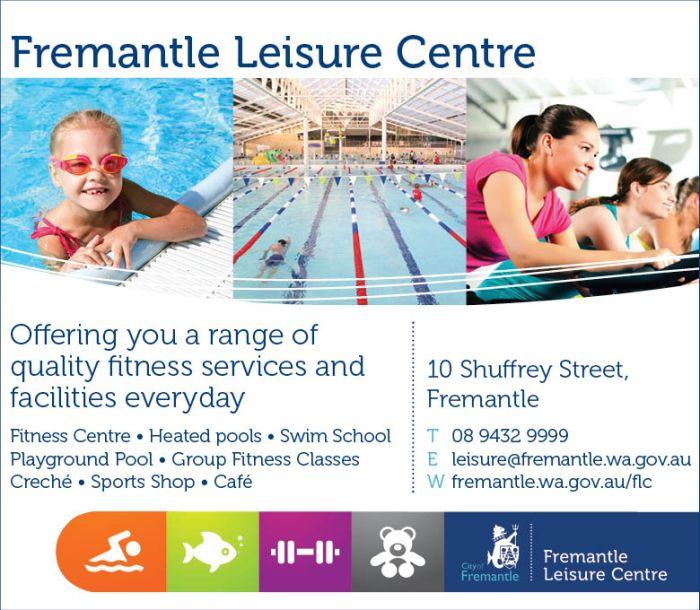 5. Fremantle Leisure Centre 10x3