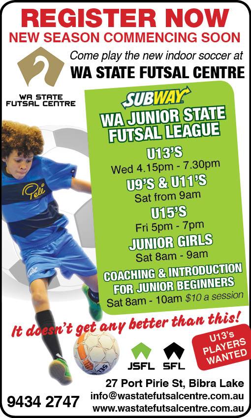 7. WA State Futsal 12x2