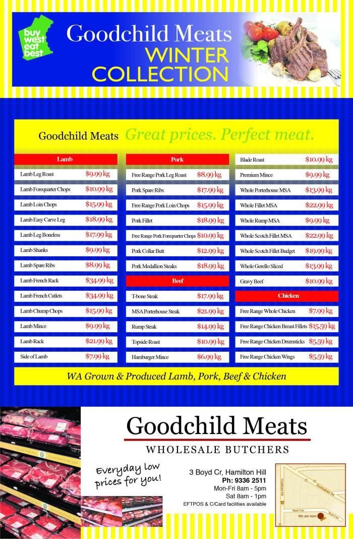 11. Goodchild Meats 40x7