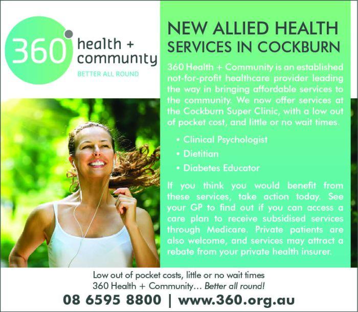 12. 360 Health and Community 10x3