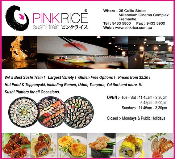 14. Pink Rice 10x3