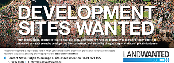 TWRLW_4559_DEVELOPMENT SITES WANTED_1 JULY.indd
