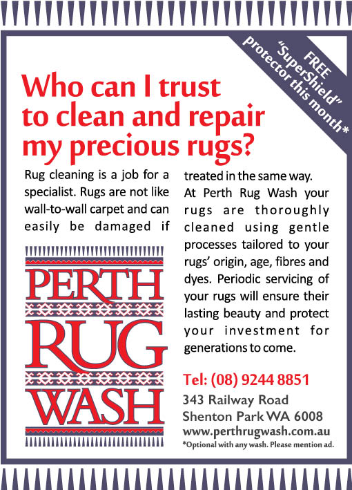 6. Perth Rug Wash 10x2