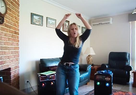 • Screenshots of Teresa van Lieshout's campaign video.