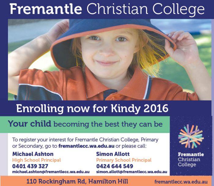 17. Fremantle Christian College 10x3