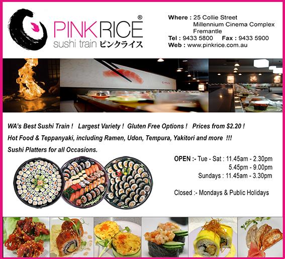 18. Pink Rice 10x3