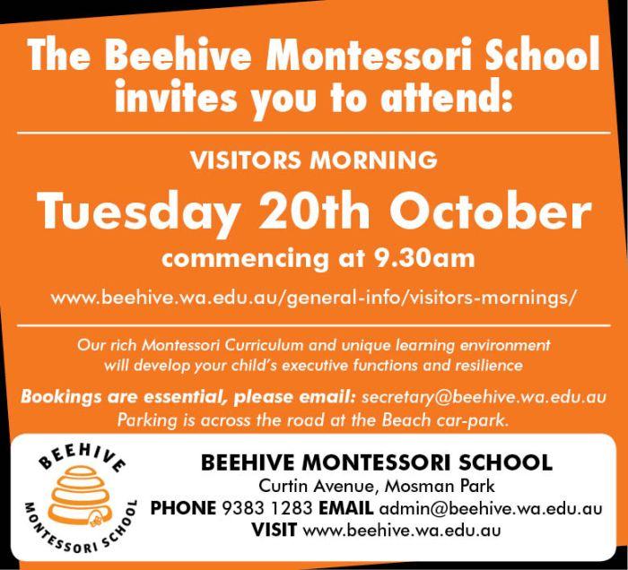 9. Beehive Montessori 10x3