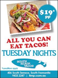 18. South Beach Tacos 10x2