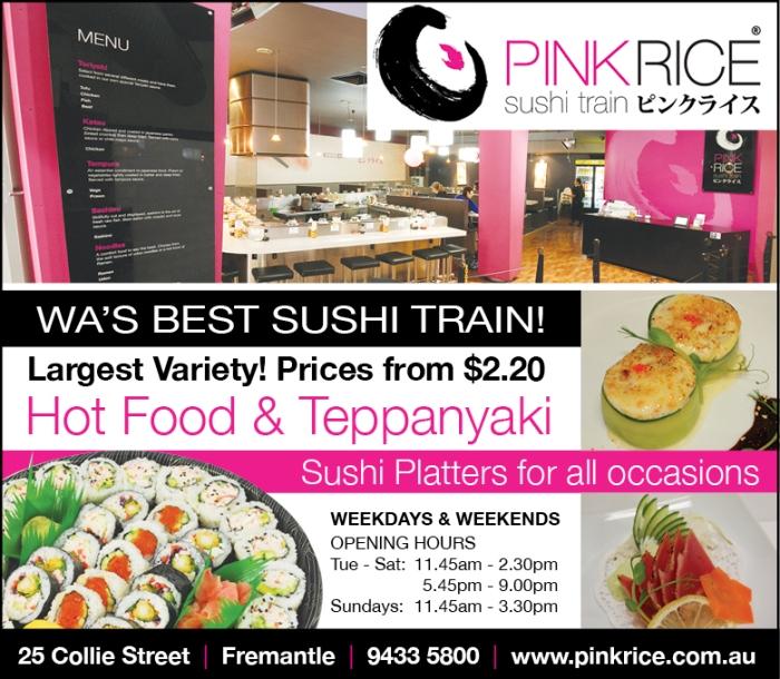 17. Pink Rice 10x3