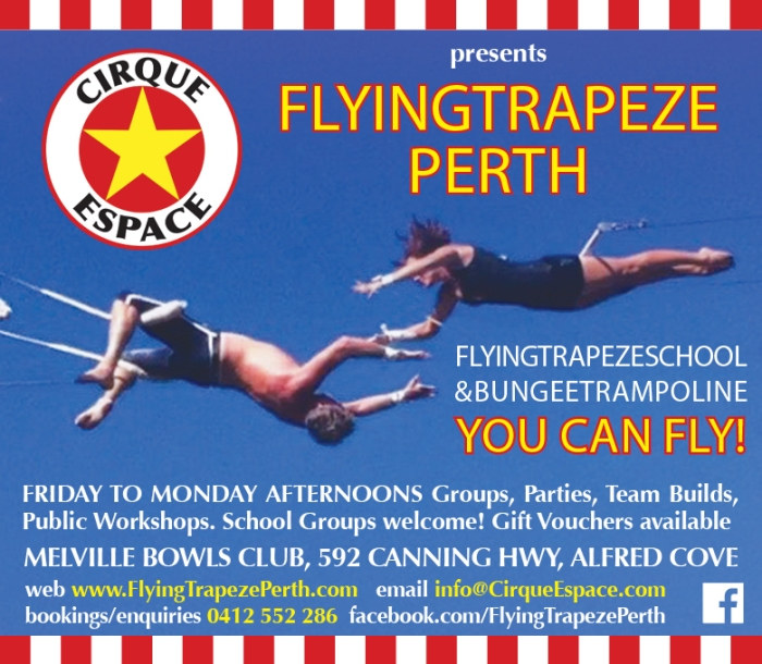 17. Flying Trapeze 10x3