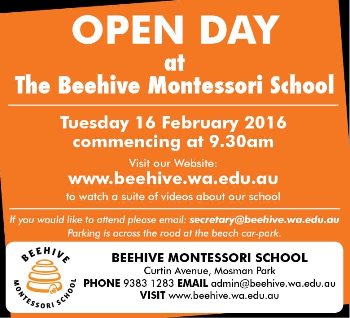 19. Beehive Montessori 10x3