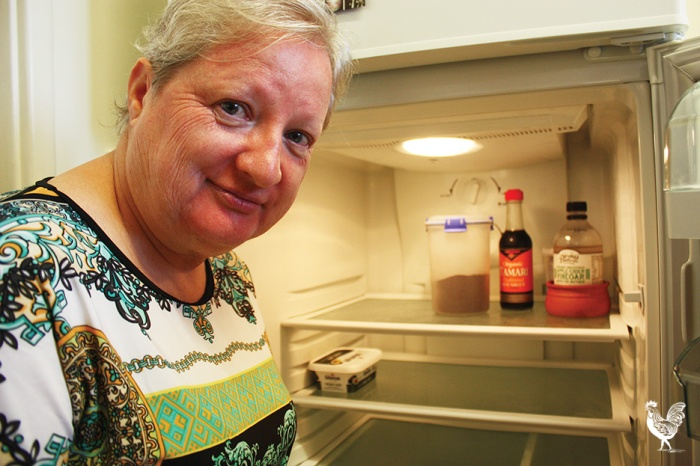 Judith Murray wonders how she'll feed herself with higher WA Housing Department rents. Photo by Steve Grant