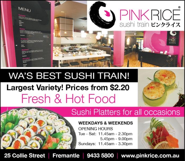 11. Pink Rice 10x3