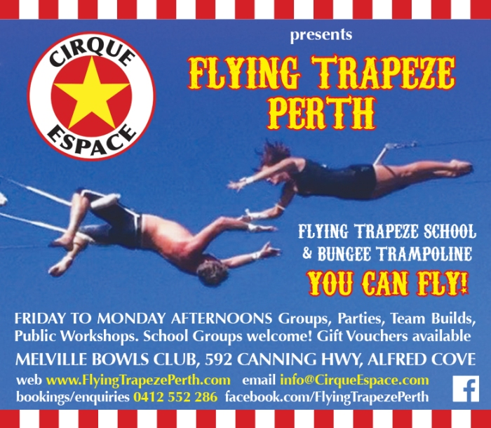 12. Flying Trapeze 10x3