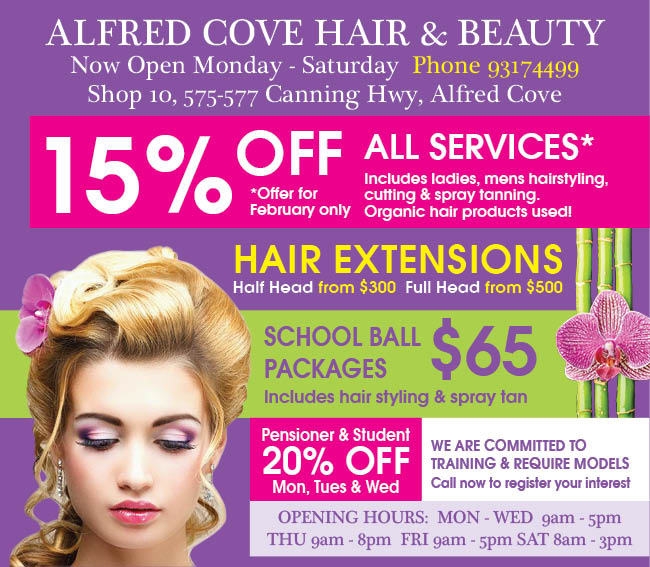 7 Alfred Cove Hair and beauty 10x3