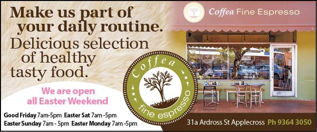 12 Coffea Fine Espresso 5x3