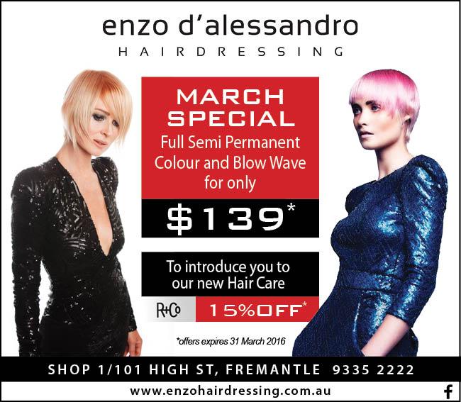 12 Enzo Hair 10x3