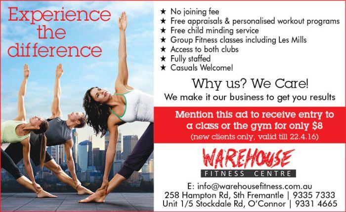 12 Warehouse Fitness 8x13