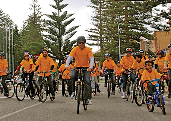 • Cyclists are expected to flock to the port city when the local council starts handing out cash vouchers. Filephoto