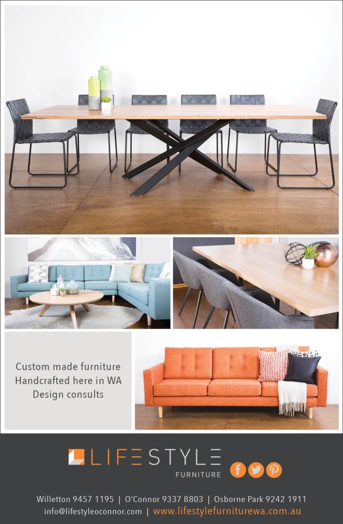 1. Lifestyle Furniture 40x7