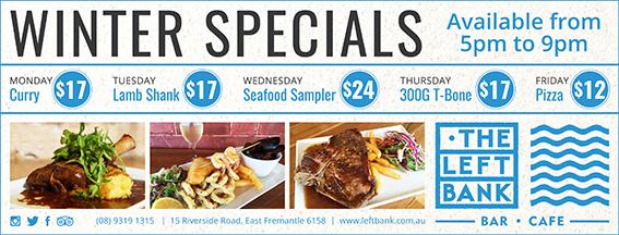 Leftbank Fremantle Herald 10x7 Strip Ad (PRINT READY)