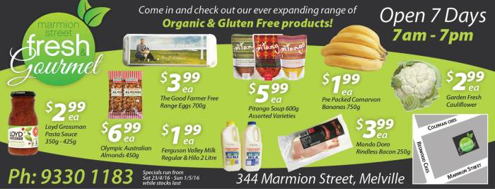 15. Marmion Street Fresh & Gourmet 10x7