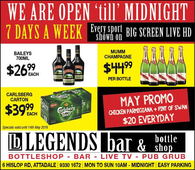 19 Legends Bar 10x3
