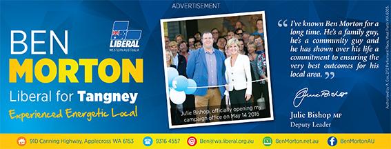 22 Liberal Party Ben Morton 10x7