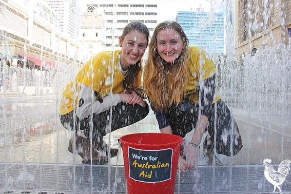 • Hannah Darch and Sarah Laundy say Australia's foreign aid needs to start flowing again. PhotobySteveGrant