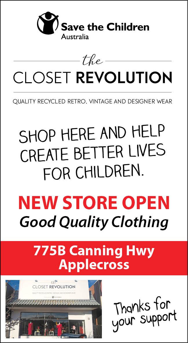 26 Closet Revolution (Save the Children) 20x3