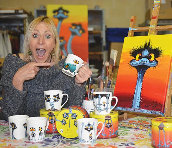Where's Stripey creator Wendy Binks is going international. Photo supplied.