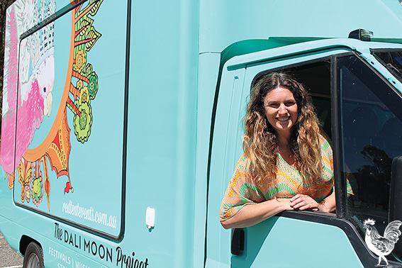 • Kylie Wheatley's vintage clothing truck is one of the stalls which will set up at a new farmers market in Manning Park. Photo by Trilokesh Chanmugam