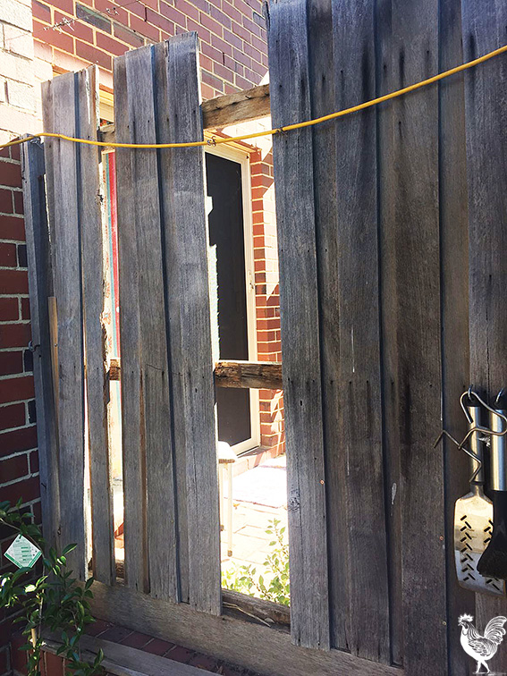 • A North Fremantle Homeswest resident says unruly neighbours wrecked his fence - but that's nothing compared to a week of alarms going off.