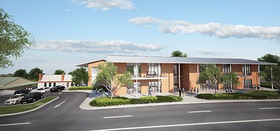 Fremantle Christian College Masterplan,Parry & Rosenthal